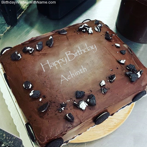 Achinth Happy Birthday,  Birthday Wishes For Achinth