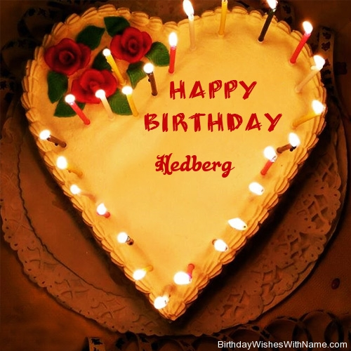 Hedberg Happy Birthday,  Birthday Wishes For Hedberg