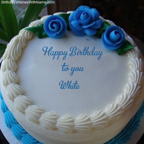 White Happy Birthday,  Birthday Wishes For White