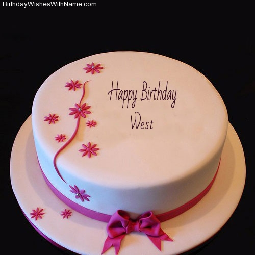 West Happy Birthday,  Birthday Wishes For West