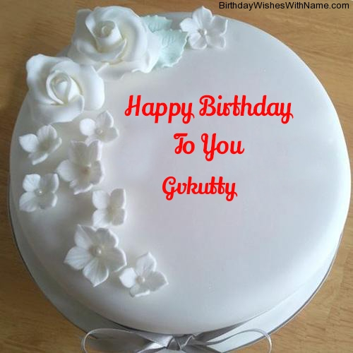 Gvkutty Happy Birthday,  Birthday Wishes For Gvkutty