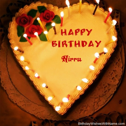 NIRRU Happy Birthday,  Birthday Wishes For NIRRU