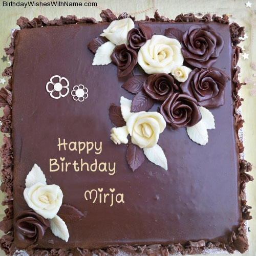 Mirja Happy Birthday,  Birthday Wishes For Mirja