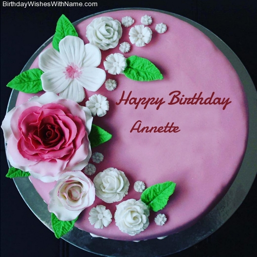 Happy Birthday Annette