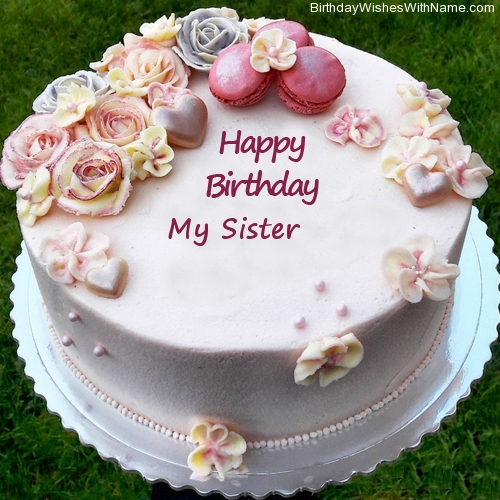 Super My Sister Happy Birthday Birthday Wishes For My Sister Personalised Birthday Cards Paralily Jamesorg