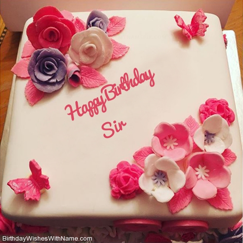 Sir Happy Birthday Birthday Wishes For Sir