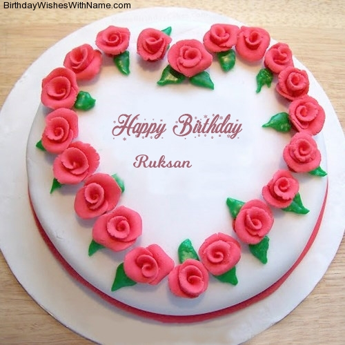 Ruksan Happy Birthday,  Birthday Wishes For Ruksan