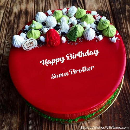 SOMU BROTHER Happy Birthday,  Birthday Wishes For SOMU BROTHER