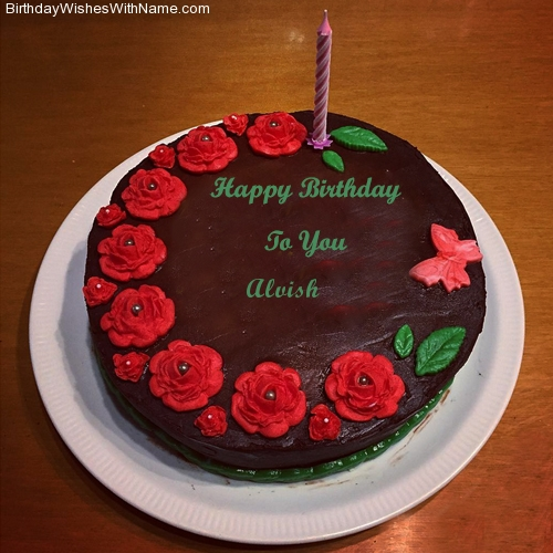 Alvish Happy Birthday,  Birthday Wishes For Alvish