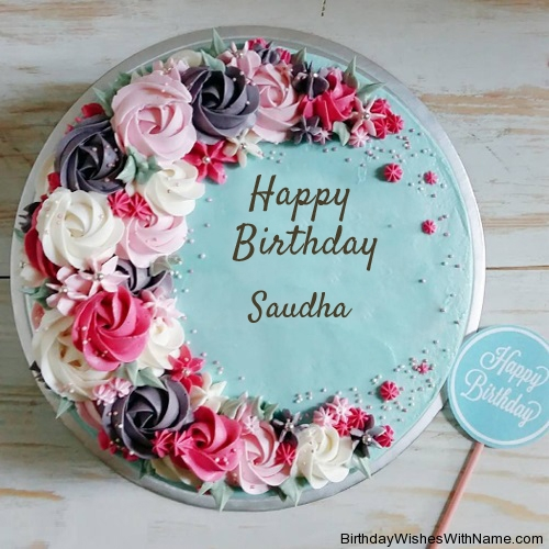 Happy Birthday Saudha