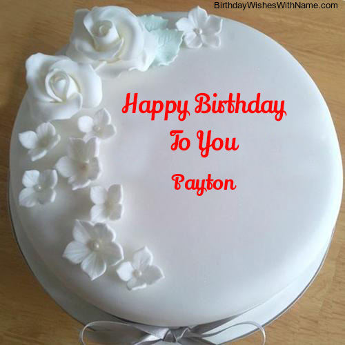 Happy Birthday Payton
