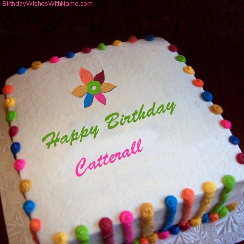 Happy Birthday Catterall