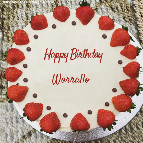 Happy Birthday Worrallo
