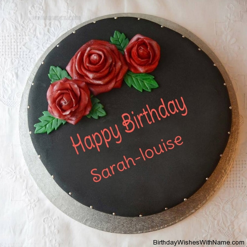 Happy Birthday Sarah-louise
