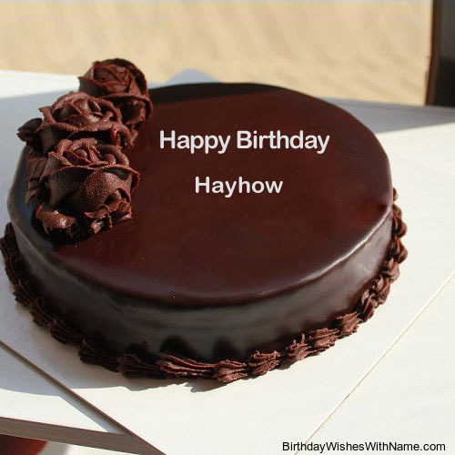 Happy Birthday Hayhow