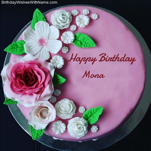 Birthday Cake With Edit Name Download
