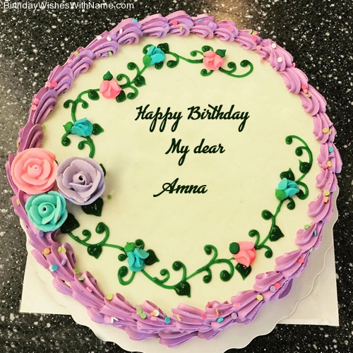 Amna Happy Birthday Wishes For