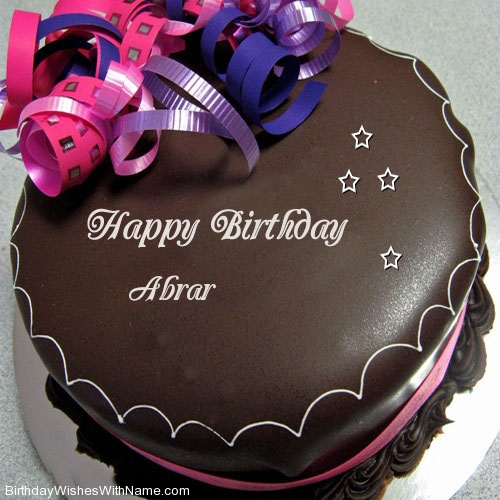 Abrar Happy Birthday Wishes For