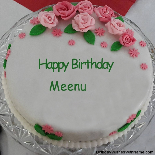 Happy Birthday Meenu Hd Wallpaper