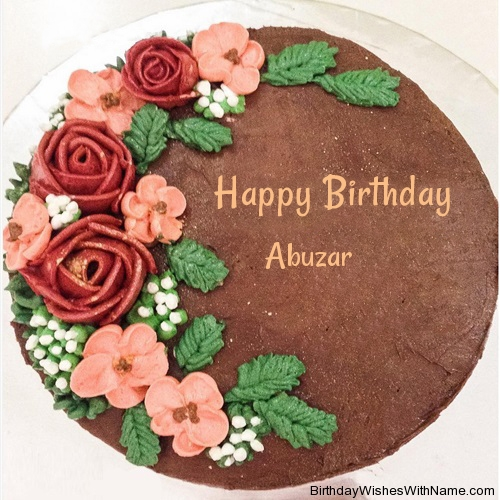 Abuzar Happy Birthday Wishes For