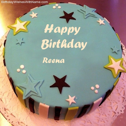 Happy Bday Cake With Name For Sister