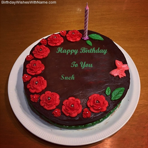 Sneh Happy Birthday Birthday Wishes For Sneh