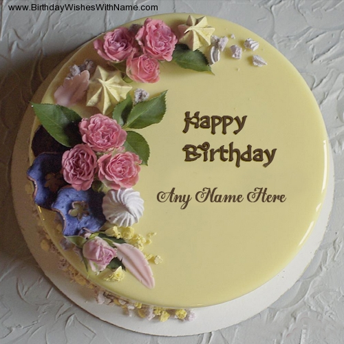 Say Happy Birthday To Sister With Name