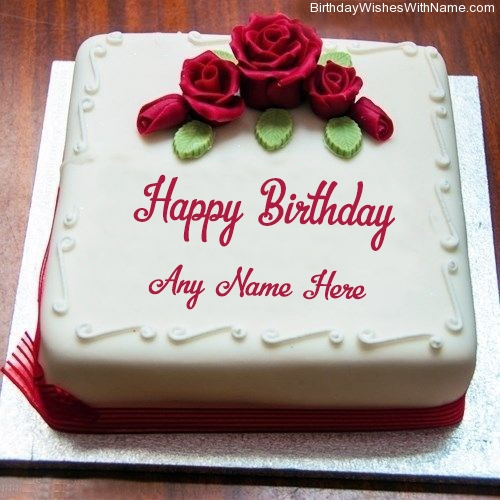 Remarkable Birthday Cake Designs With Name Personalised Birthday Cards Beptaeletsinfo