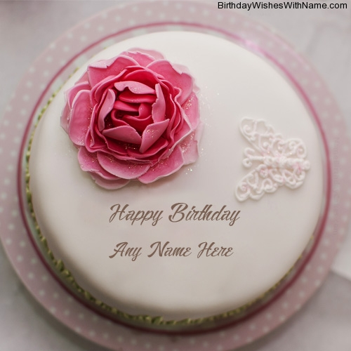 Rose Birthday Cake For Girls