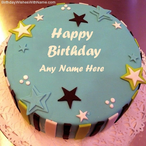 Star Decoration On Cake